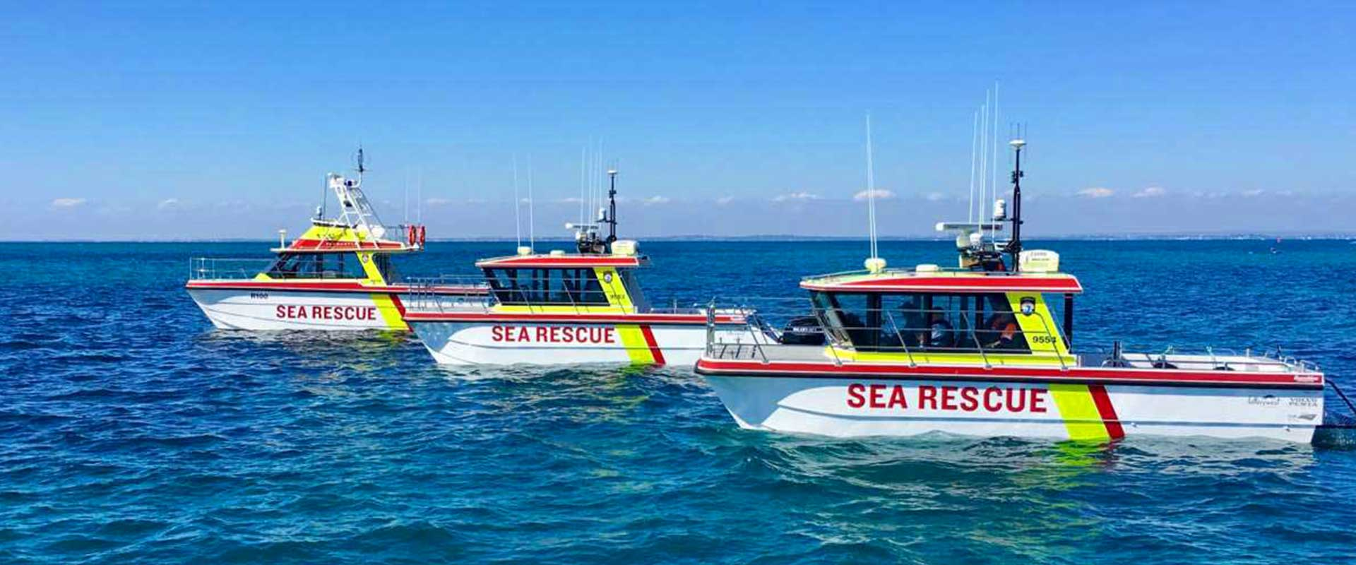 vehicle signage perth - Waterproof vehicle graphic for Sea Rescue Perth by Imagesource