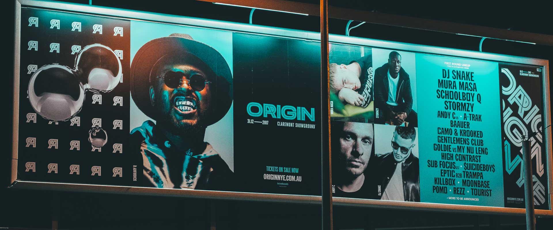 large format printing perth - billboard
