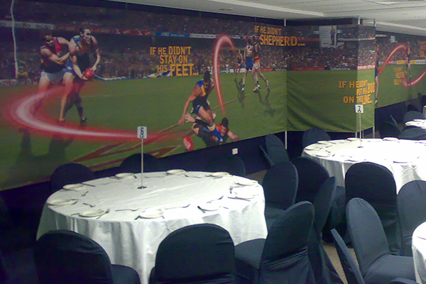 Textile banner available from Imagesource