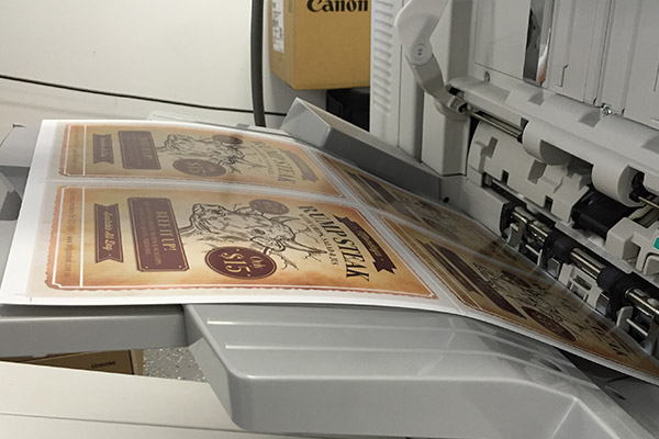 Flyer printing available from Imagesource