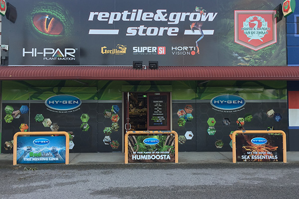 Signage for Reptile and Grow Store by Imagesource