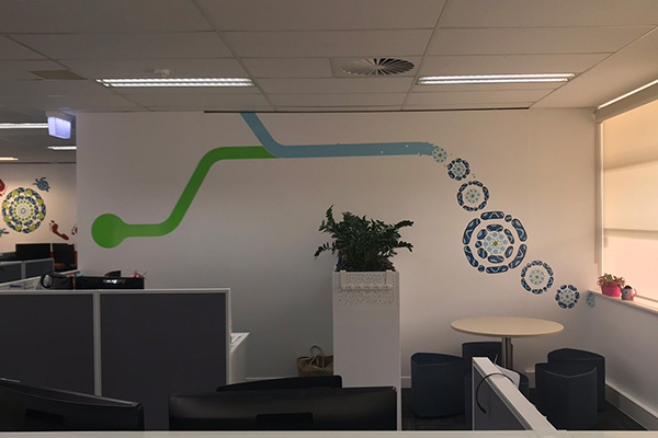 Wall graphics available from Imagesource