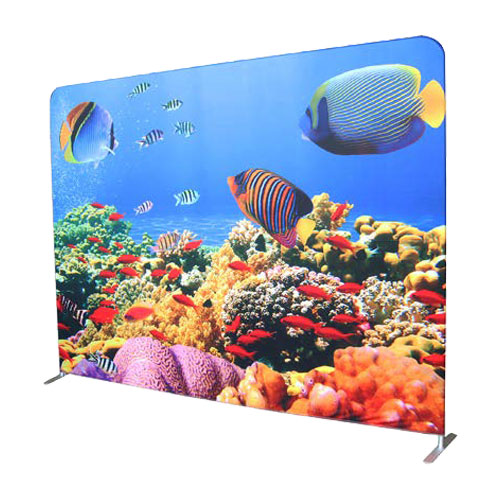 large format printing perth - Fabric tension display system available from Imagesource