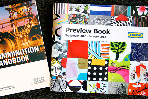 Brochure and book printing available from Imagesource