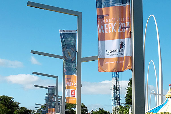 Flags for City of Perth by Imagesource