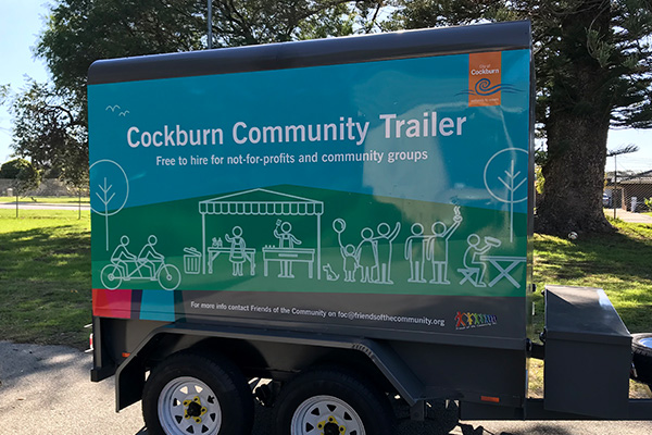 Vehicle graphics for City of Cockburn by Imagesource