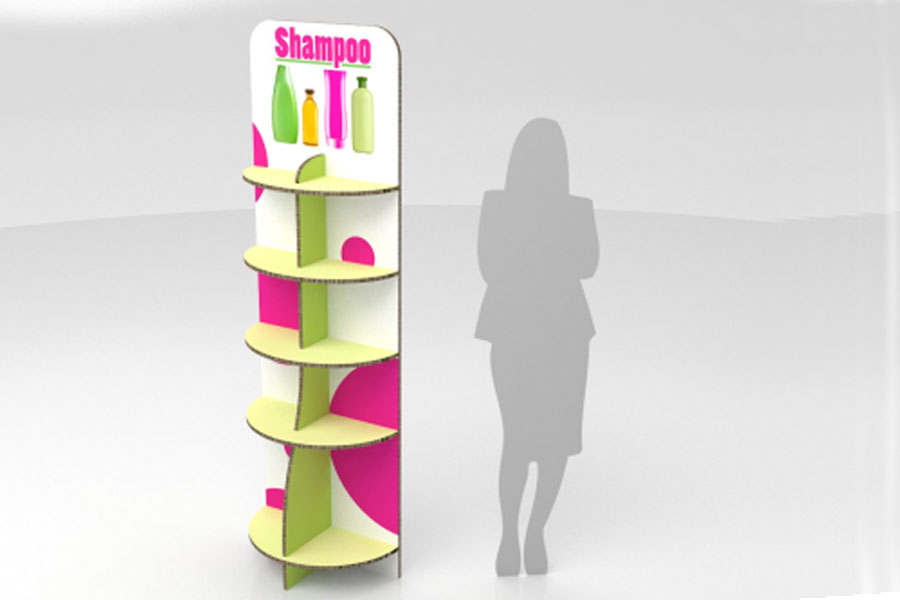 The 5-Stand is one of the printed furniture pieces available from Imagesource.