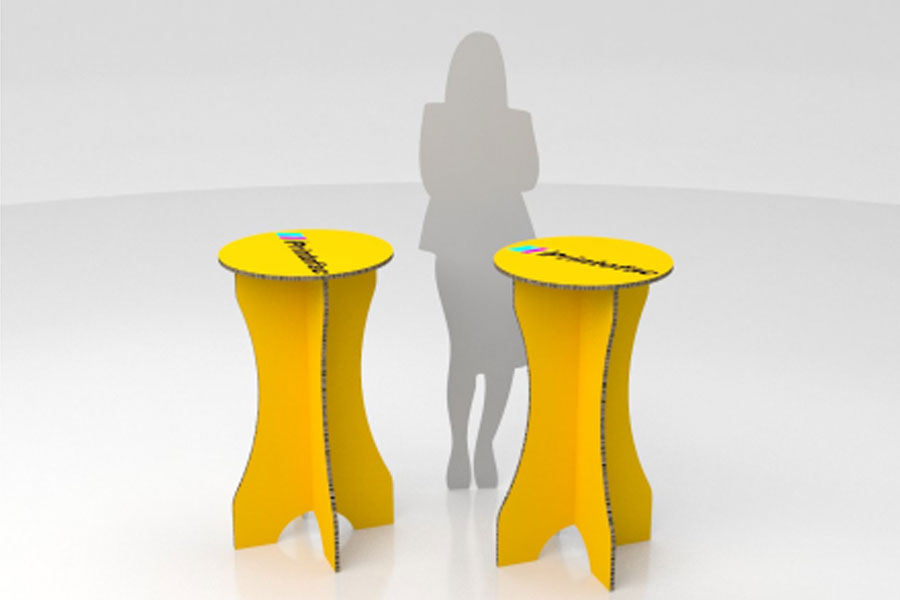 The Cocktail is one of the printed furniture pieces available from Imagesource.