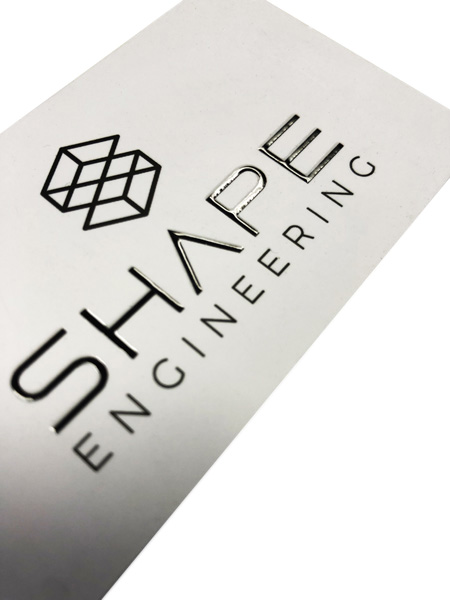 small format printing - Imagesource business cards - Scodix effect
