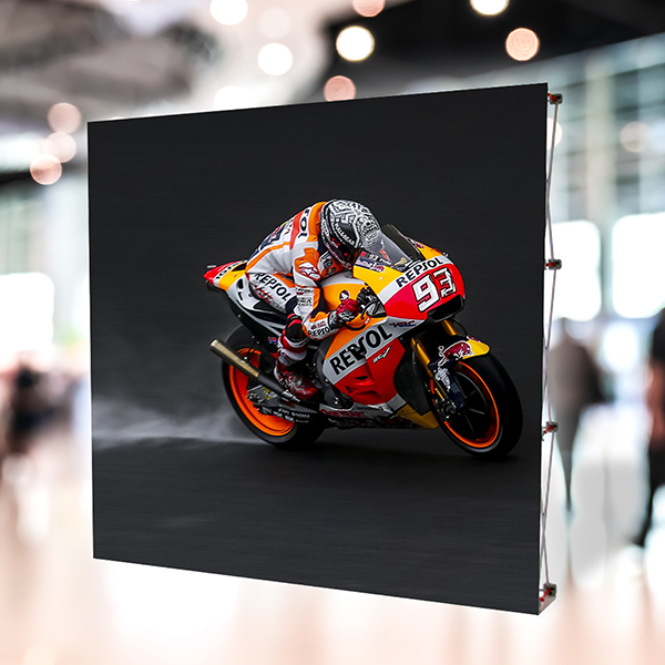 large format printing option, the Imagesource Fabric Pop-up Wall is great for event signage and display signage