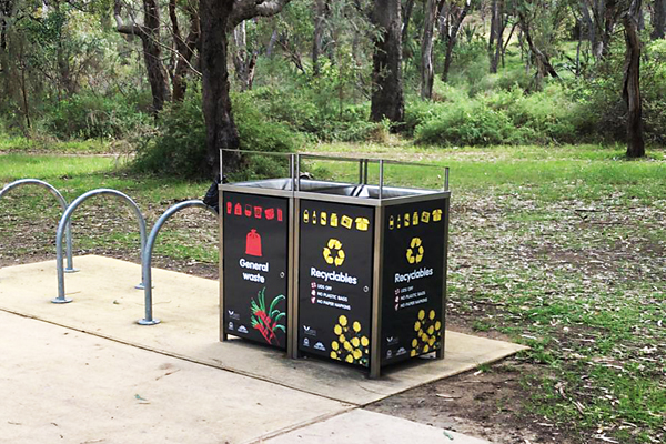 large format printing perth - bin graphics for the City of Subiaco